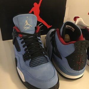 Jordan 4s Travis Scott size 10